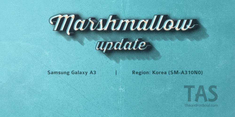 android Marshmallow galaxy a3 2016
