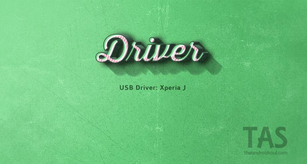 xperia j usb driver