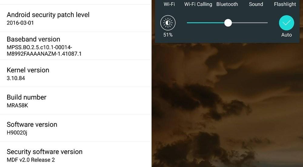 lg v10 Wi-Fi calling update