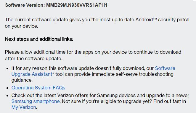 note 7 update