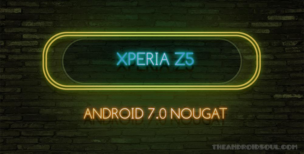 xperia-z5-nougat