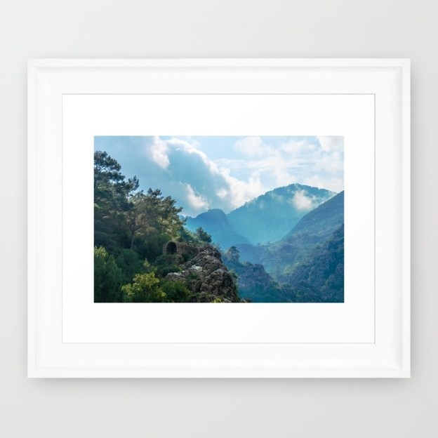 Nature's Temple framed print