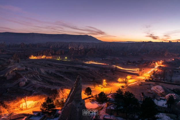 Göreme before sunrise