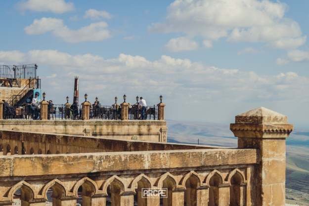 Chai on the roofs of Mardin