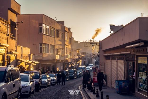 Mardin's main street