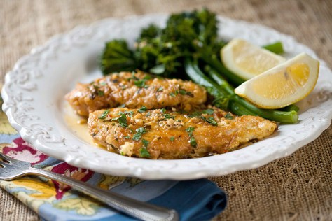 Chicken French & Lemon Broccolini