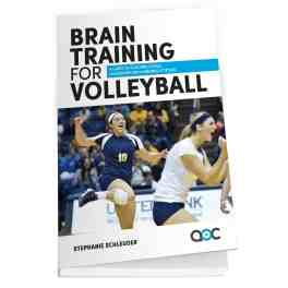 Brain Training Volleyball Book