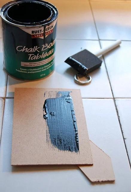 DIY- Mini Chalkboard 6