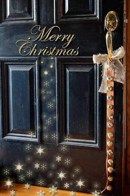 Merry Christmas Door 1