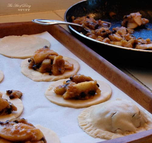 Stuffing Hand Pies