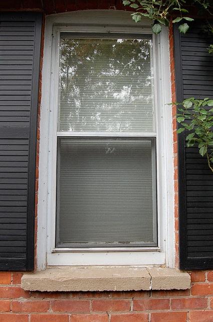 finished window
