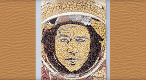 'Mash Damon' unveiled to celebrate the release of The Martian