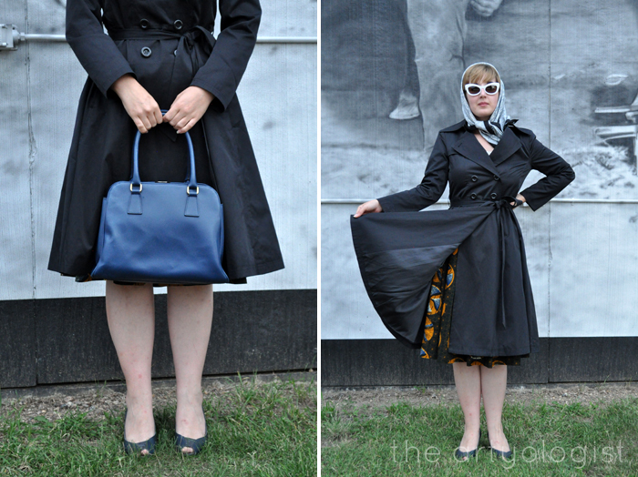 what I don't like, hell bunny trench coat, the artyologist