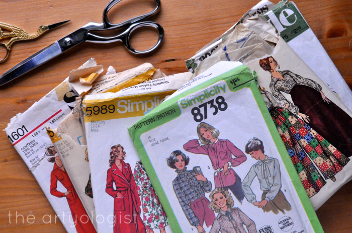 the refashioners challenge, patterns, the artyologist
