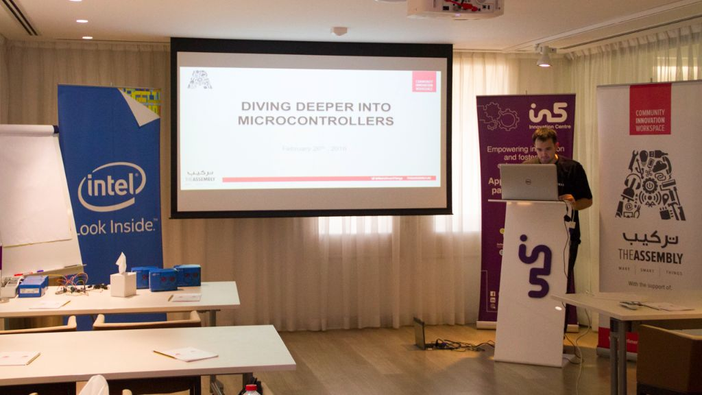 Workshop – Diving Deeper into Microcontrollers – Feb 27, 2016