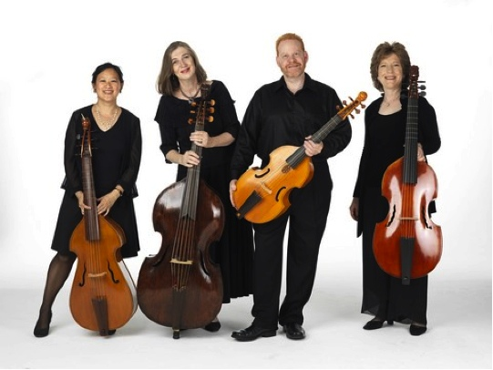"""Parthenia Viol Consort presents """"For Ye Violls"""": """"The Consort Setts for 5 viols"""" by William Lawes (Photo credit: William Wegman)"""