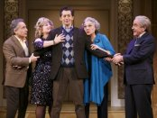 """Chip Zien, Anne L. Nathan, Josh Grisetti, Tyne Daly and Adam Heller in a scene from """"It Shoulda Been You"""" (Photo credit: Joan Marcus)"""