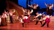 "The Company in a scene from NYGASP's ""The Gondoliers"" (William Reynolds)"