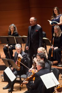 Tenor Rufus Miller with American Classical Orchestra and Chorus (Photo credit: Arlette Landestoy)