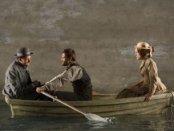 "Gabriel Ebert, Matt Ryan and Keira Knightley in a scene from ""Thérèse Raquin"" (Photo credit: Joan Marcus)"
