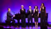 "Billy Stritch, Debby Boone, Nicolas King, Gabrielle Stravelli and La Tanya Hall as they appeared in 92nd Y's Lyrics & Lyricists Series: ""Witchcraft: The Jazz Magic of Cy Coleman (Photo credit: Richard Termine)"
