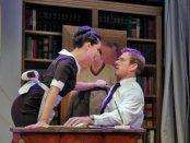 "Samarie Alicea as Susana and Luke Scott as Paul Conti in a scene from ""¡Figaro!"" (Photo credit: Ken Howard)"