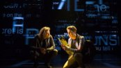 "Mike Faist and Ben Platt in a scene from ""Dear Evan Hansen"" (Photo credit: Matthew Murphy)"
