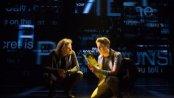 """Mike Faist and Ben Platt in a scene from """"Dear Evan Hansen"""" (Photo credit: Matthew Murphy)"""