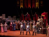 """A first act production number from NYGASP's revival of """"Princess Ida"""" (Photo credit: William Reynolds)"""