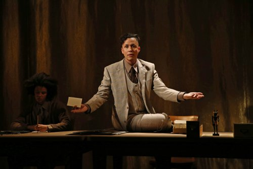 "Jacques Gerard Colimon and Daniel Alexander Jones in a scene from ""Duat"" (Photo credit: Julieta Cervantes)"