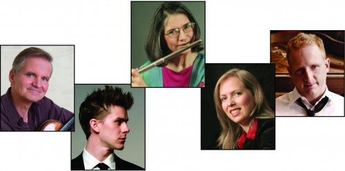 Curtis Macomber, Chris Gross, Patricia Spencer, Meighan Stoops and Steven Beck (Couresy of The Da Capo Chamber Players)