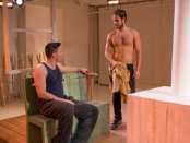 """Brian Gligor and Marc Sinoway in a scene from """"Boys of a Certain Age"""" (Photo credit: Hunter Canning)"""