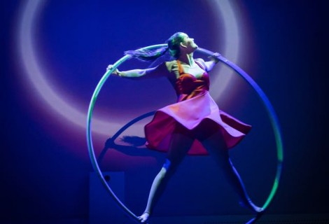 Cyr Wheel act door Lisa Chudalla
