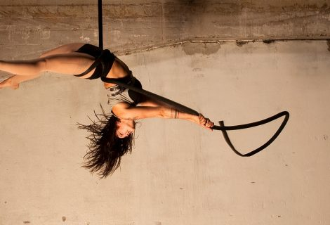 Aerial Rope act by Lisa Chudalla