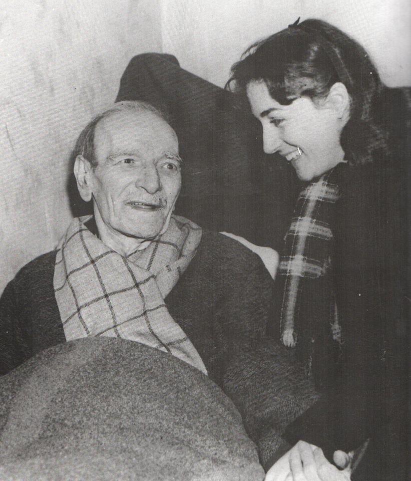Γρηγόριος Ξενόπουλος και Έλλη Λαμπέτη σε μια μοναδική φωτογραφία