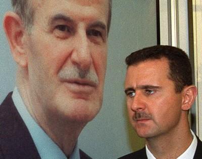Bashar al-Assad, son of Syrian President Hafez al-