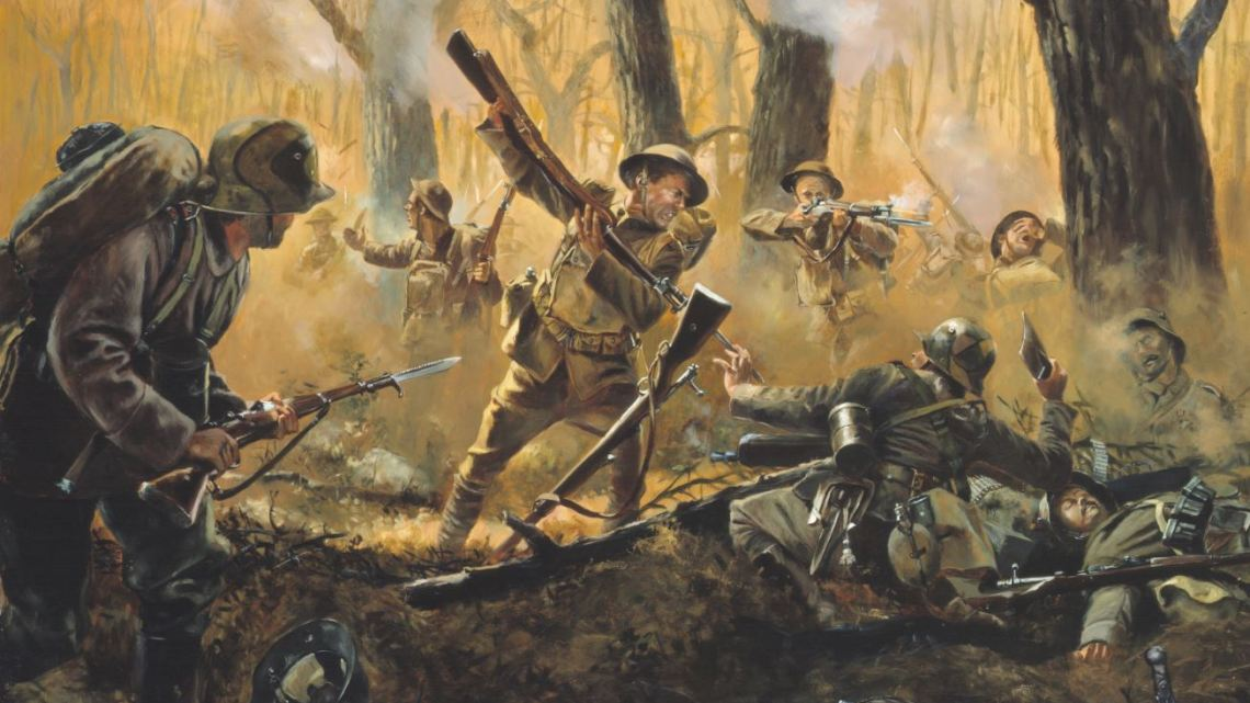 Soldats US WW1