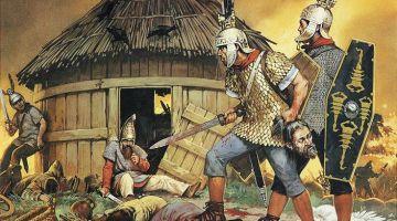 Gaulois recrutés dans l'armée romaine