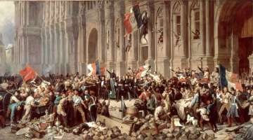 Lamartine à l'Hôtel de Ville