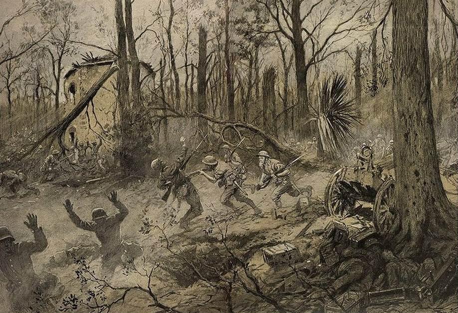 La brigade marine américaine au Bois de Belleau