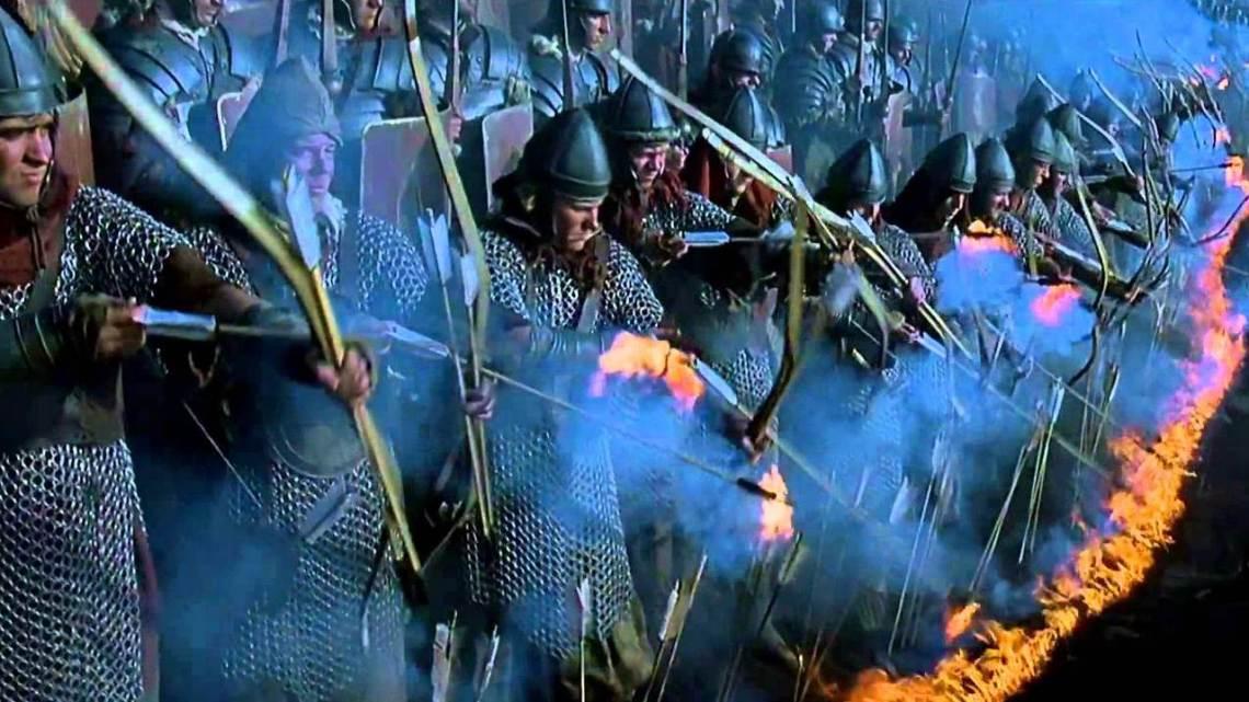 Archers romains