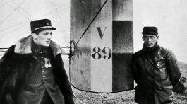 Les pilotes français Frantz et Quénaut.