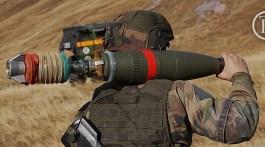 Servant de mortier 120 RT du 93e RAM. Crédit : Stéphane Gaudin.