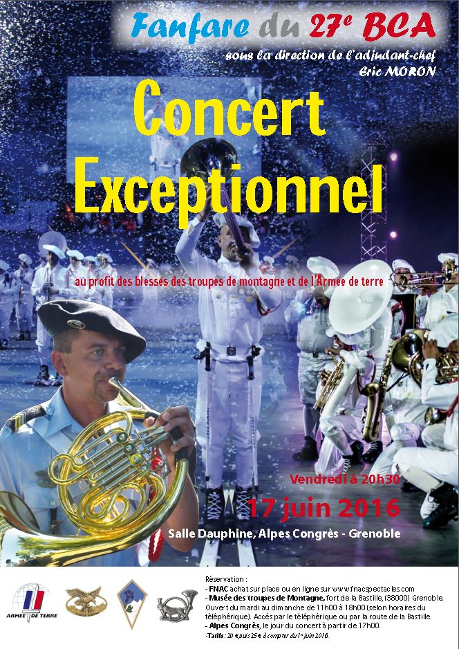 Concert Fanfare 17 juin