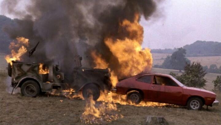 ford pinto fires Despite being the right car for the times, the ford pinto was plagued by the fear  that its owners could suffer serious burns due to a major design.
