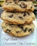 Soft Batch Chocolate Chip Cookies!  Pure Nirvana!