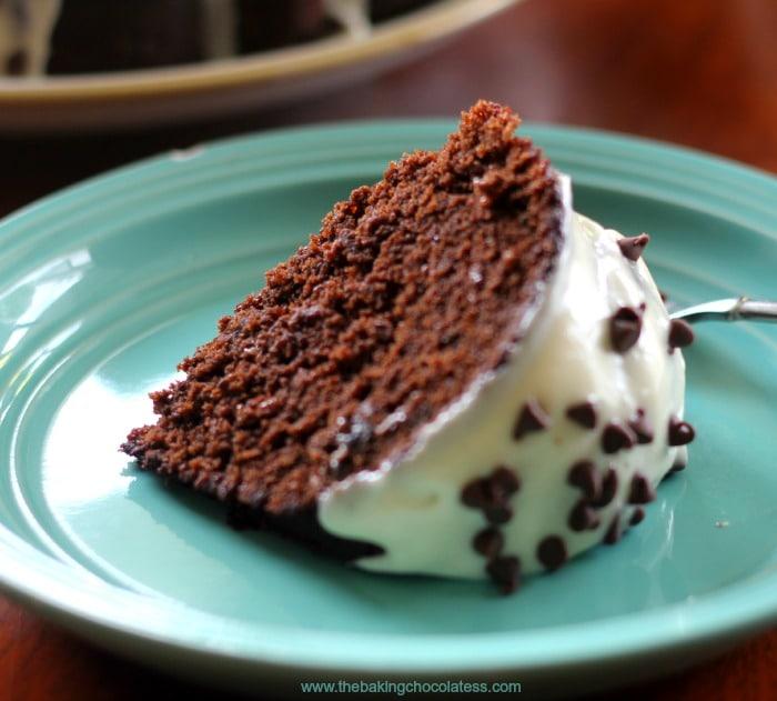 Home-made Chocolate Kahlua & Cream Bundt Cake