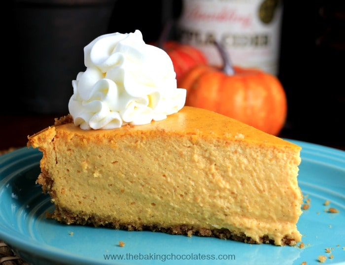 """We Begin with """"The Great Pumpkin"""" Cheesecake Can you say ..."""