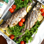 whole grilled trout | The Baking Fairy