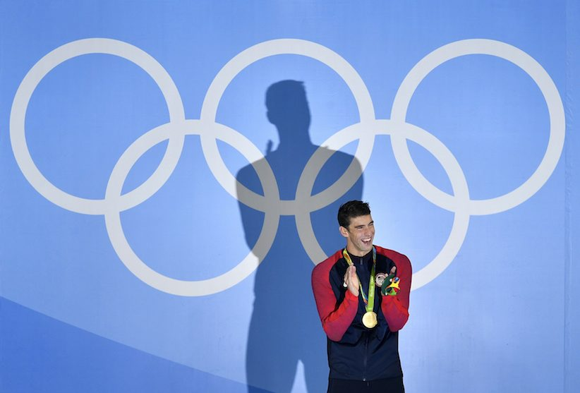Michael Phelps Contemplating Rehab for Gold Addiction